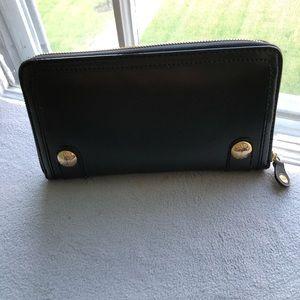 Zara black wallet
